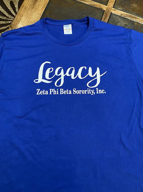 Zeta legacy T-Shirt Bundle (T-Shirt and Pair of Earrings)