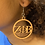 Thumbnail: Zeta Phi Beta Wooden Earrings