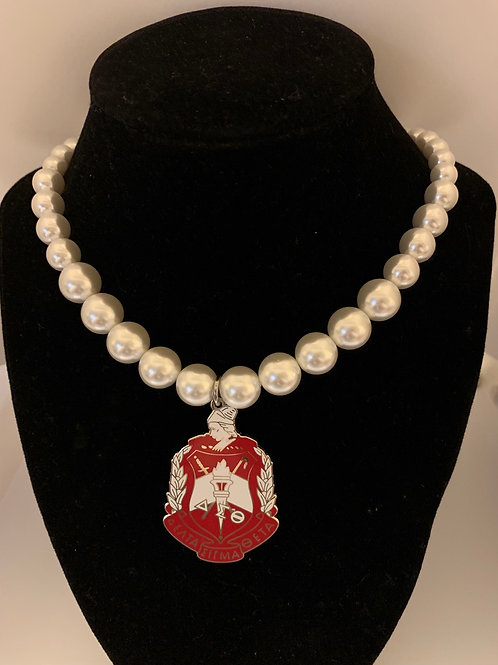 Delta 2 inch Shield Pearl Bracelet