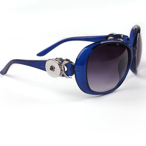 Zeta Phi Beta Blue Retro Shades