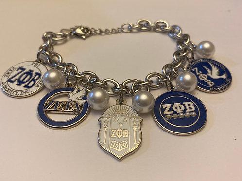 Zeta Build a Bracelet -5 charms