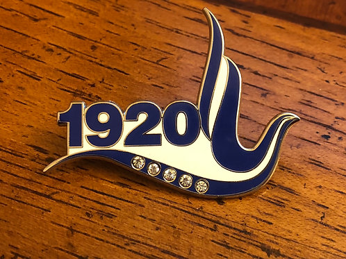 Zeta 1920 Lapel Pin