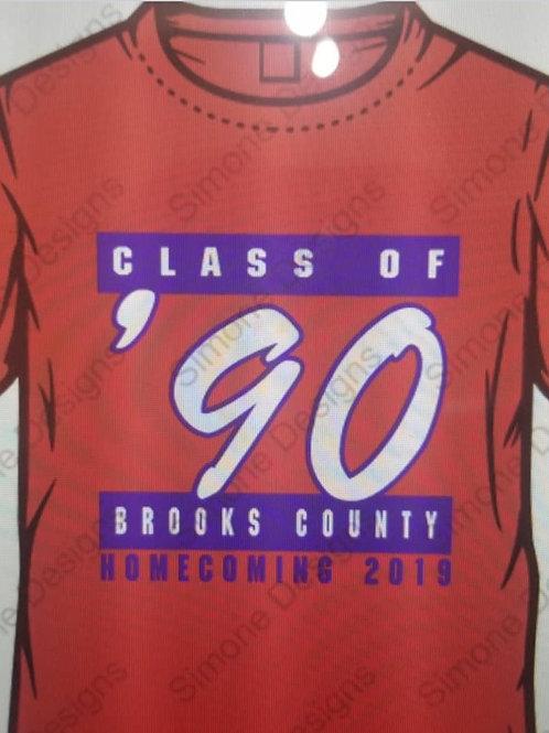 Class of 90 Reunion Shirt