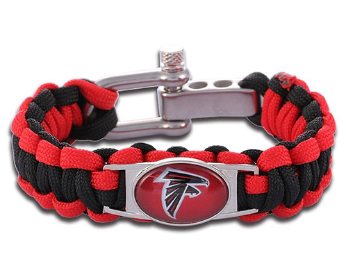Falcons Corded Bracelet