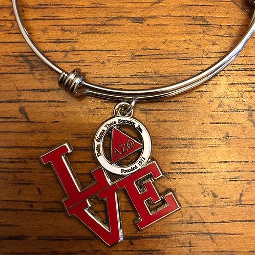 Delta LOVE Stainless Bracelet