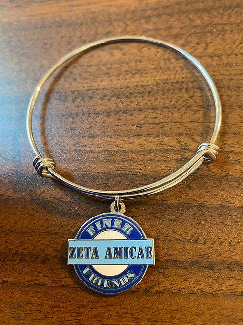 Zeta Amicae Finer FriendZ Stainless Bracelet