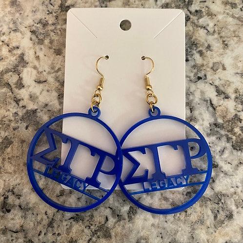 SGRho Legacy Acrylic Earrings