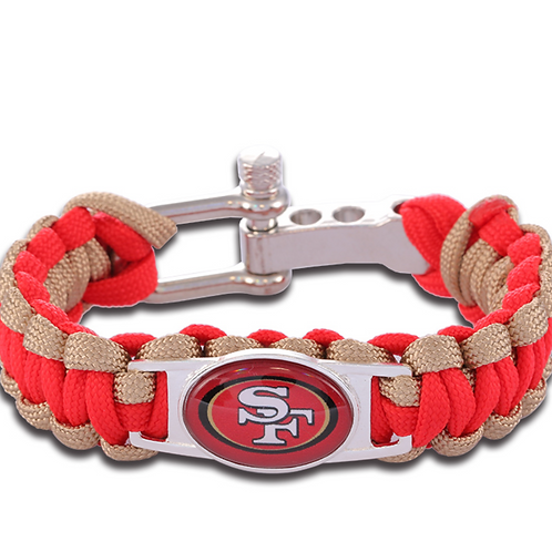 Forty Niners Corded Bracelet