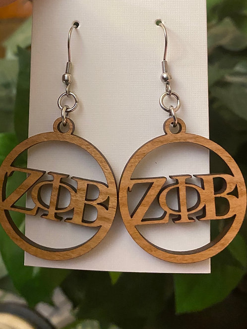 Zeta Wooden Earring Bundle
