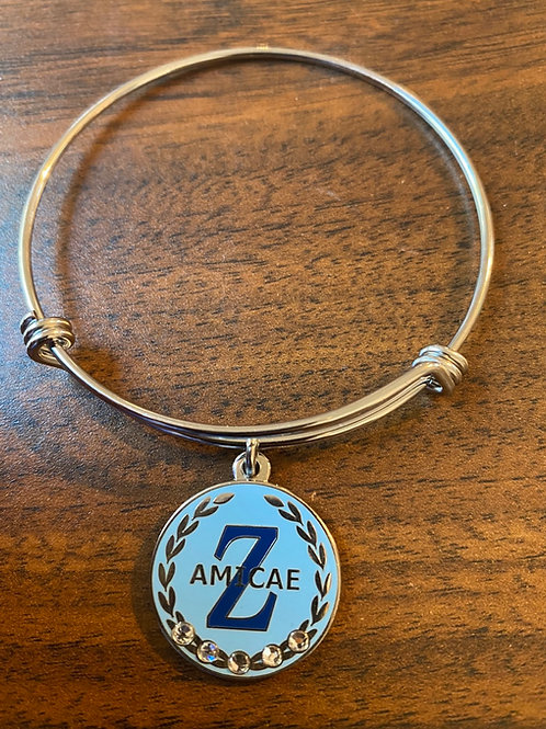 Amicae Wreath Stainless Bangle