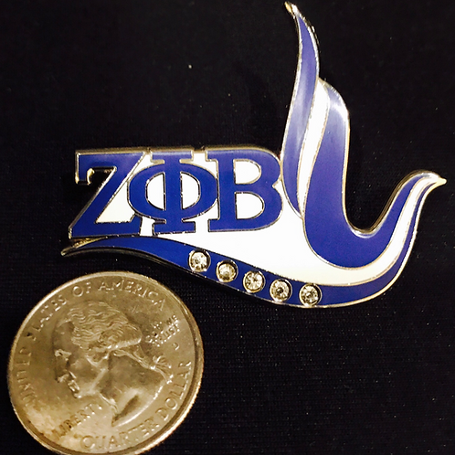 Zeta Phi Beta Lapel Pin