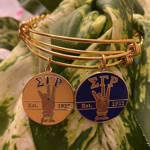 SGRho Greater Charm Bracelet (Caramel)