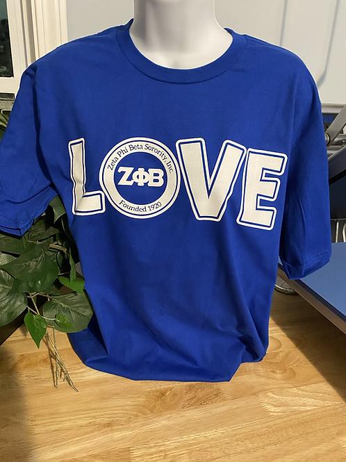 Royal LOVE Zeta T-Shirt