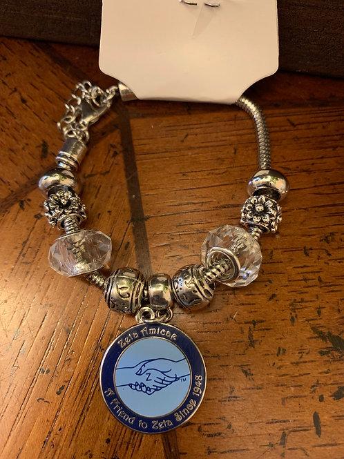 Zeta Amicae Beaded Bracelet