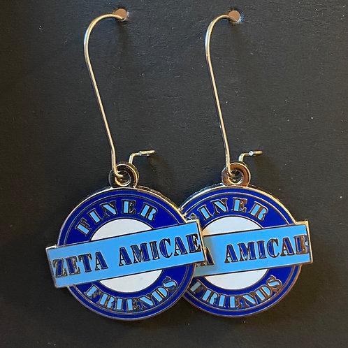 Zeta Amicae Finer Friends Earrings