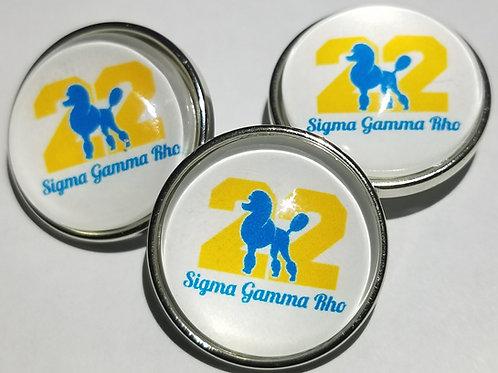 Sigma Gamma Rho Gold 22 Snap