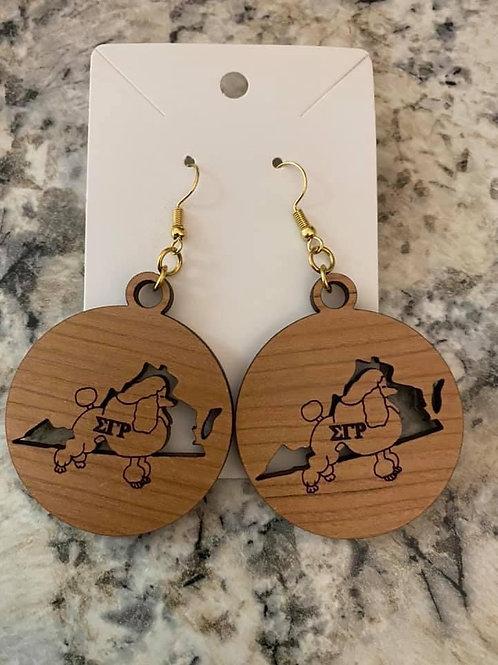 SGRho Virginia Earrings