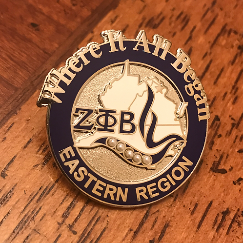 Zeta Phi Beta Eastern Region Pin