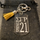 Thumbnail: SGRho Crossing Keychain