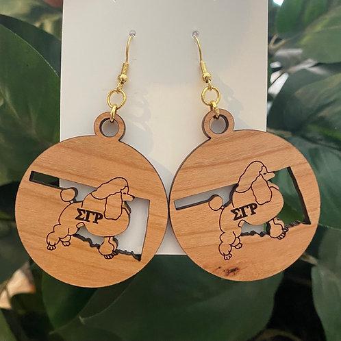 SGRho Oklahoma Earrings