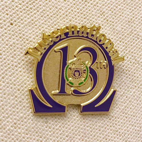 Omega Psi Phi 13th District Lapel Pin