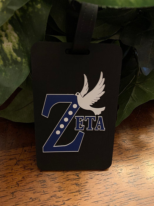Zeta Dove Luggage Tag