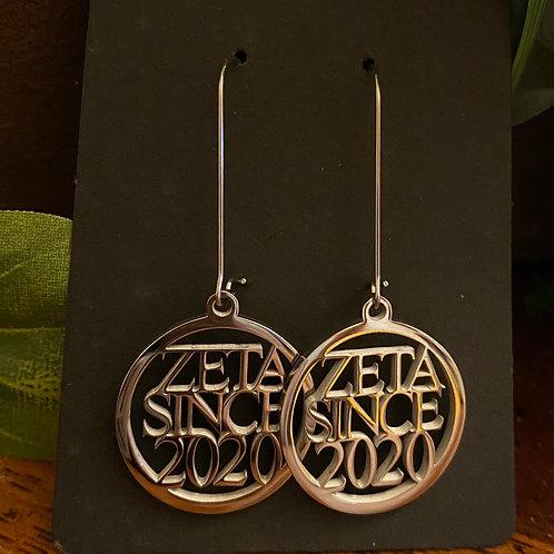 Zeta Since  (2010-2020) Stainless Earrings
