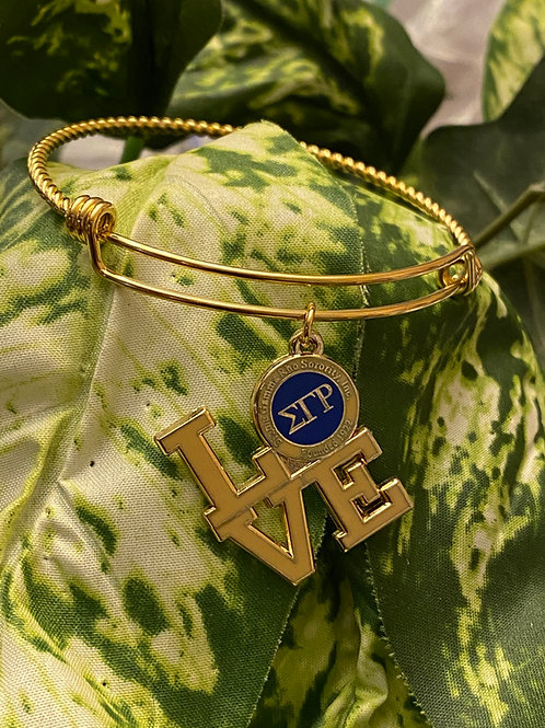 SGRho Love Stainless Bangle