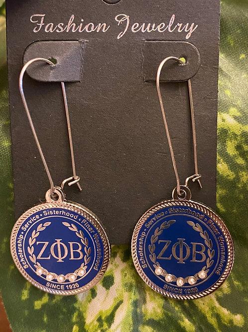 Zeta Executive Earrings