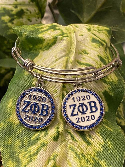 Zeta 1920/2020 Stainless Bangle
