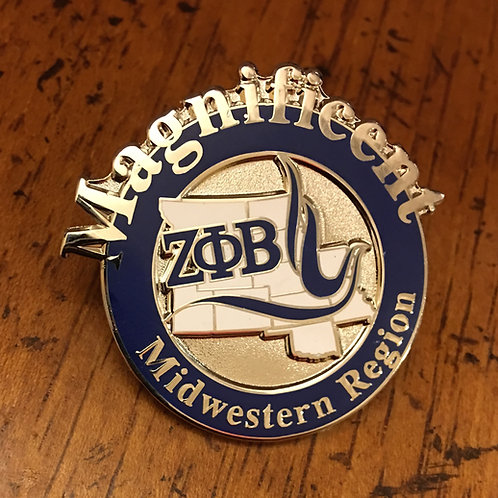 Zeta Phi Beta Midwest Region Pin