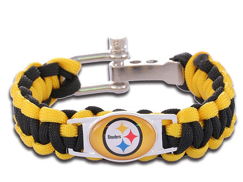 Steelers Corded Bracelet