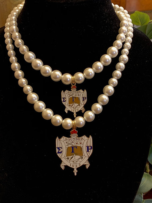 SGRho 1inch Pearl Necklace