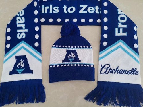 Archonette Scarf and Hat Set