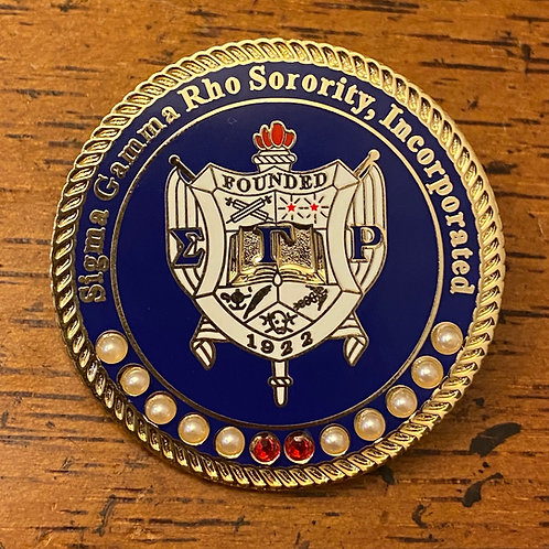 SGRho Rhoyal Shield Executive Lapel Pin