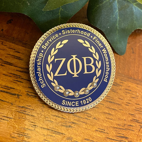 Zeta Executive Lapel Pin