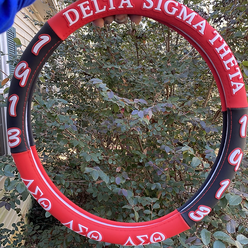 Delta 3D Steering Wheel Cover