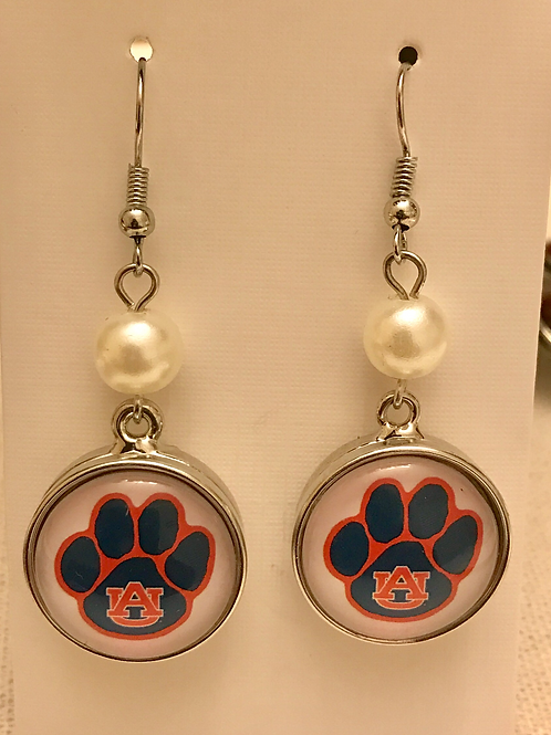 Auburn Snap Earrings