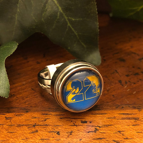 Sigma Gamma Rho Stainless Snap Ring