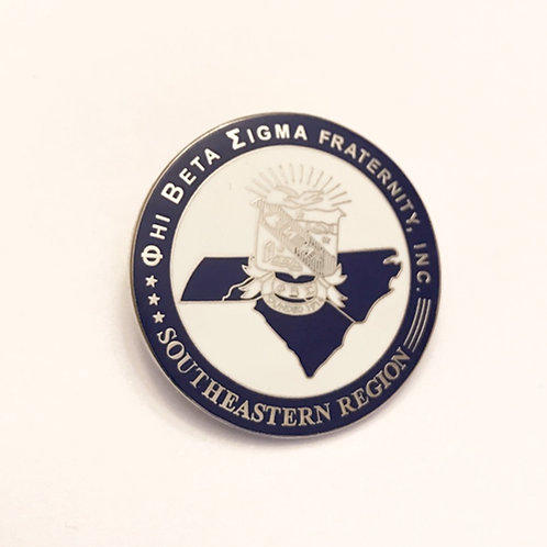 Phi Beta Sigma Southeastern Region Pin