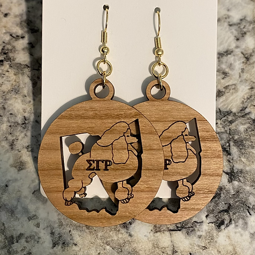 SGRho Ohio Earrings