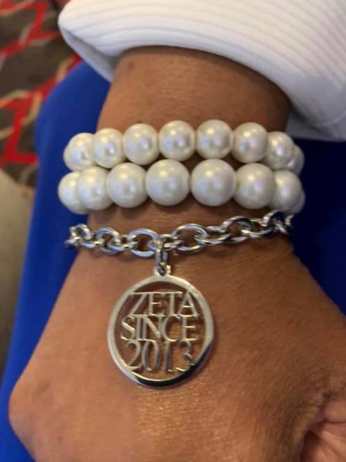 Zeta Since  (2010-2020) Stainless Bracelet