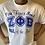 Thumbnail: Zeta Fine Finer Finest T-shirt All Royal (White)