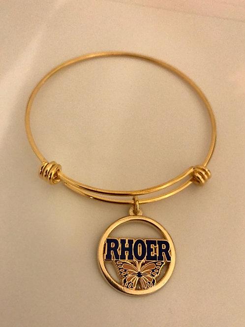 Rhoer Stainless Steel Butterfly Bracelet