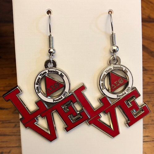 Delta Love Earrings