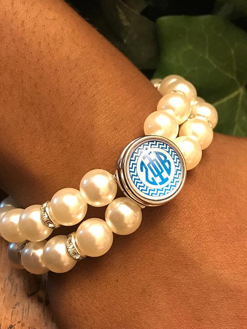 Snap Pearl Bracelet