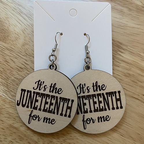 Juneteenth Earrings