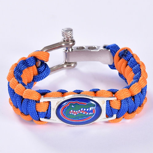 Gators Corded Bracelet