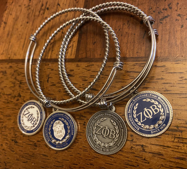 Thumbnail: Zeta Executive Set (Bracelet and Pin)