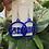 Thumbnail: Zeta Phi Beta Royal Acrylic Earrings
